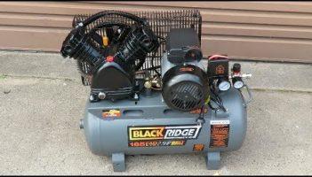 BlackRidge 185 LPM Portable Belt Driven Air Compressor