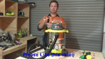 Ryobi 240v Shop Vacuum