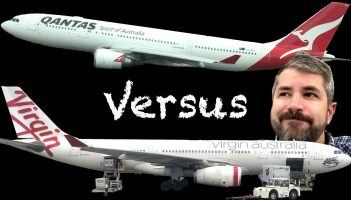 Qantas A330 Business Class Sydney to Perth 2018