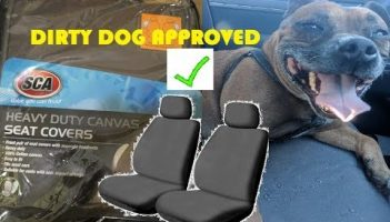 SCA Heavy Duty Canvas Seat Covers