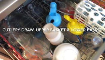 Kleenmaid DW6030 Eco Sensitive Stainless Steel Dishwasher