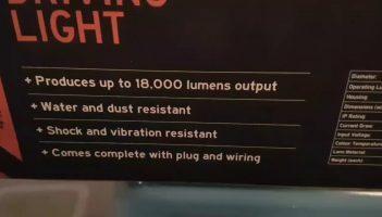 XTM 9″ LED Spotlights