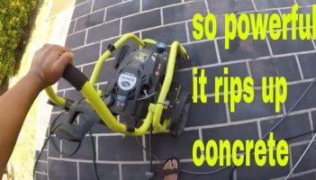Ryobi petrol pressure washer