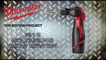 Milwaukee M12 Cordless Soldering Iron
