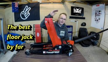 ToolPro 3000Kg Low Profile Trolley Jack