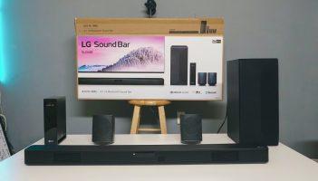 LG SoundBar W/Wireless Subwoofer: Review Unboxing & Set Up