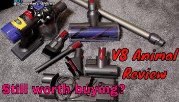 Dyson V8 Animal Review & Demonstration