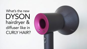 Dyson diffuser review in curly hair