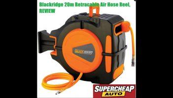 Blackridge Air Hose – Retractable, 20m TOOL REVIEW!