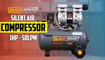 Blackridge Silent Air Compressor – 1HP 50LPM