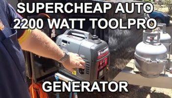The Supercheap Auto 2200W Tool Pro generator review