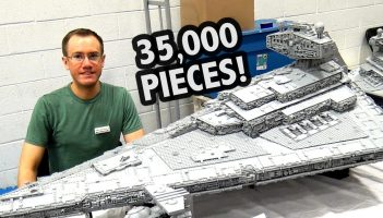 LEGO Star Destroyer with Full Interior