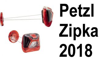 First look and review of the Petzl ZIPKA 2018 headlamp