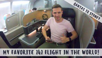 Review: QANTAS 747 Economy & Airbus A330 Business Class
