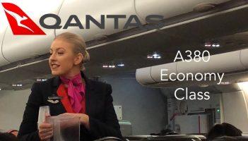 QANTAS A380 Economy Class eXperience