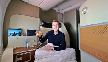 Surprising Flight in Qantas A380 First Class Suites – Review