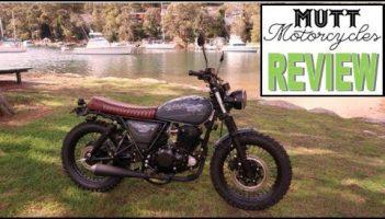 Mutt Motorcycle Australian review