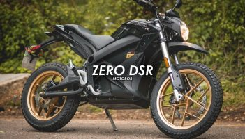 Zero DSR Electric Motorcycle Review