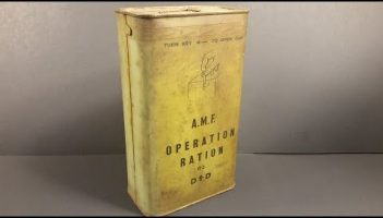 MRE Review Vintage Meal – Review