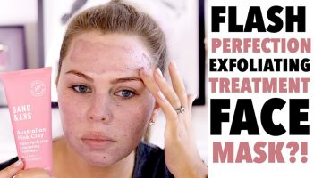 CLAY FLASH EXFOLIATING TREATMENT MASK – Review