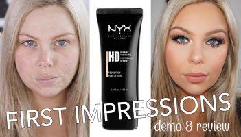 NYX HD Studio Foundation Review