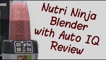 Nutri Ninja Blender with Auto IQ BL480UK Review