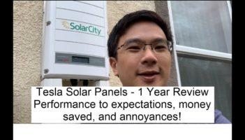 Tesla Solar Panels – 1 Year Review