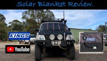 Adventure Kings 120 Watt Solar Blanket Review