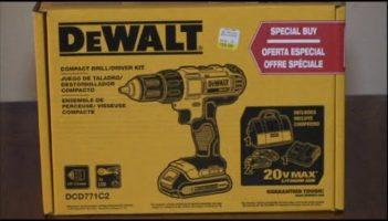 Power Tool Review: Dewalt Drill/Driver Kit