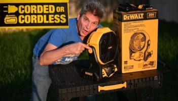DeWalt Jobsite Fan Kit Tool Review