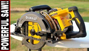 DEWALT 60-VOLT WORM DRIVE STYLE CIRCULAR SAW- REVIEW