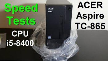 ACER Aspire TC-865 i5-8400, Review