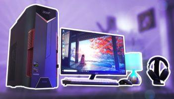 Acer's Gaming Setup! (Nitro 50) Review