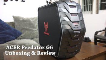 Acer Predator G6 Gaming Desktop Review
