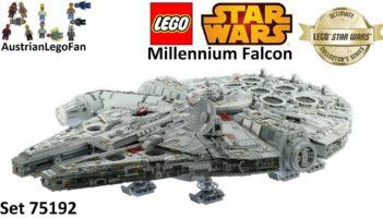 Lego Star Wars 75192 Millennium Falcon – Lego Speed Build Review
