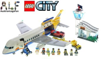 LEGO City 60262 Passenger Airplane – Lego Speed Build Review