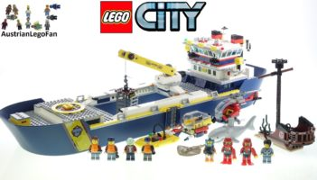 LEGO City 60266 Ocean Exploration Ship – Review