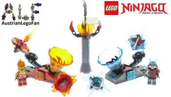 Lego Ninjago 70684 Spinjitzu Slam – Lego Speed Build Review