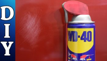 Removing Scratches Using WD-40 Review