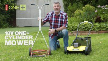 RYOBI: 18V ONE+ Cylinder Lawn Mower Review