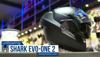 Shark Evo-One 2 motorcycle helmet Review