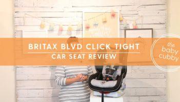 Britax Boulevard ClickTight Convertible Car Seat Review