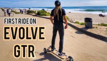 Evolve Electric Skateboard GTR Review