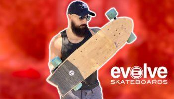 EVOLVE SKATEBOARDS STOKE BOARD REVIEW