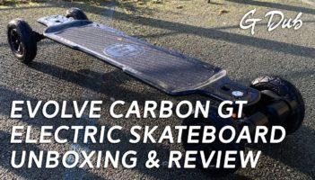 Evolve Carbon GT electric skateboard – review