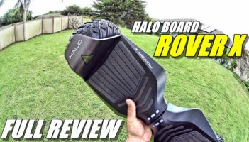 HALO BOARD ROVER X Hoverboard Review