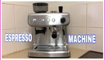 BARISTA MAX EXPRESSO MACHINE Review