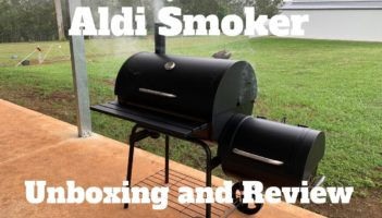 Aldi Offset Smoker Build – Smoker Assembly and Review