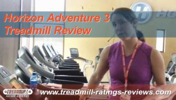 Horizon Adventure 3 – Treadmill Review