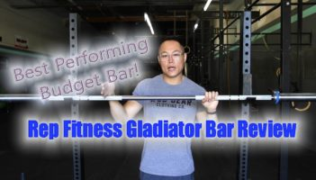 Rep Fitness 20kg Gladiator Barbell Review